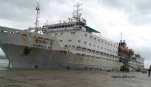 Ship Fare to andaman