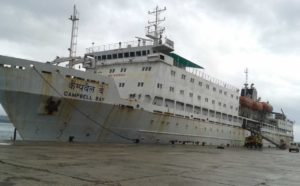 ship schedule for andaman
